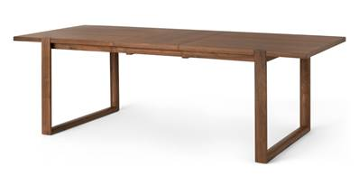 Nuno table extensible noyer